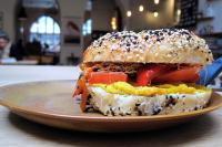 Hallesches Haus - vegan bagel