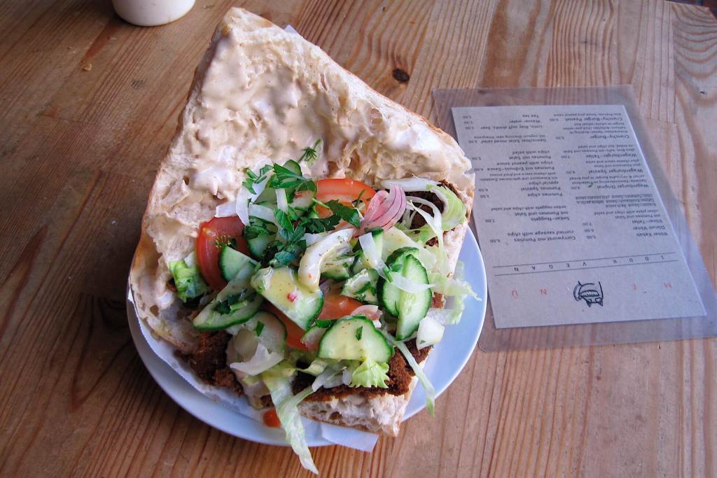 voener- vegan doner kebab