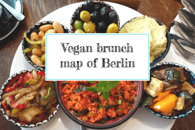 Vegan brunch map of Berlin