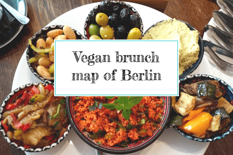 Vegan brunch map of Berlin