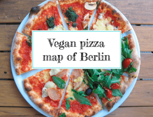 Vegan pizza map of Berlin