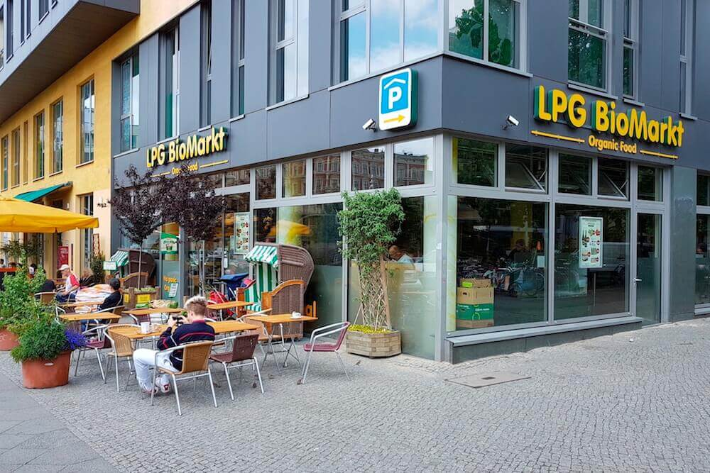map of all organic supermarkets grocery stores in berlin. Black Bedroom Furniture Sets. Home Design Ideas