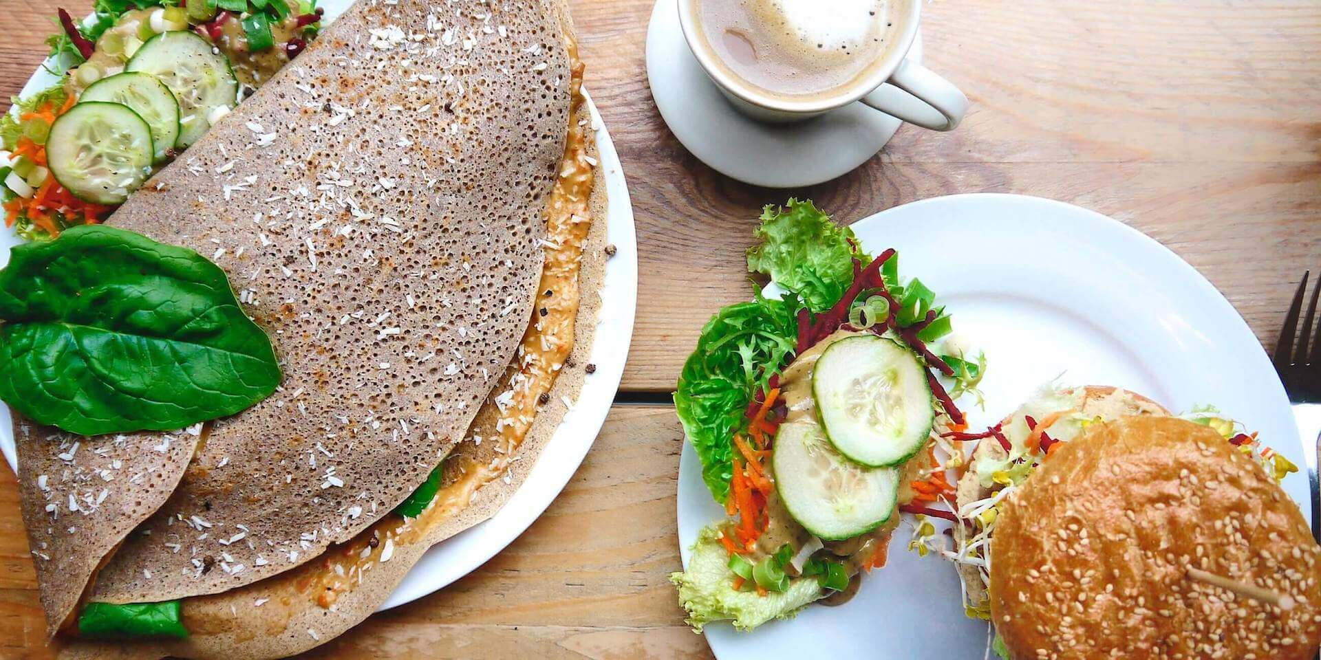 Let It Be - Plantbased burgers, crêpes and pancakes in Berlin